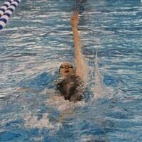 Swimming backstroke