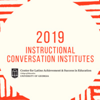 2019 Instructional Conversation Institute