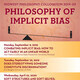 "44th Annual Midwest Philosophy Colloquium on Implicit Bias: ""Combating Implicit Bias: How to Act Fairly in an Unfair World"",  Lecture by Alex Madva"