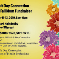Adult Day Connection Mum Sale Fundraiser
