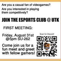 Esports Interest Session