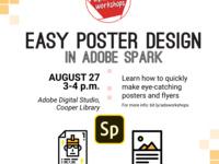 Easy Poster Design in Adobe Spark Workshop!