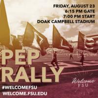 Pep Rally: New Nole Welcome