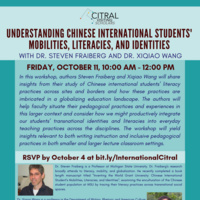 Understanding Chinese International Students' Mobilities, Literacies, and Identities