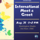 Meet & Greet for New and Current International Students