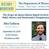 History Workshop - Alex Galarza