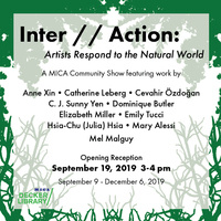 Inter//Action: Artists Respond to the Natural World (Reception)