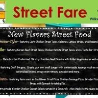 """New Flavors"" Street Food"