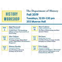 History Workshop - Kristin O'Brassill-Kulfan
