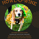 Howl-O-Wine Fundraiser to Benefit Wags for Hope
