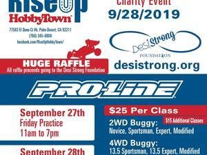 Racing for Desi Strong Foundation @ RiseUp Hobbytown