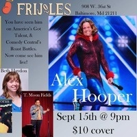 Stand Up Comedy at Holy Frijoles, with Alex Hooper (Comedy Central/America's Got Talent)