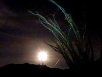 Full Moon Hike in La Quinta Cove