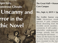 Pale Vampires, Mysterious Monks, Scary Specters, and Monstrous Ghouls: The Uncanny and Horror in the Gothic Novel