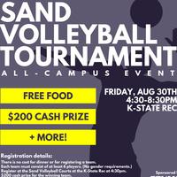 Sand Volleyball Tournament