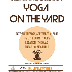 Yoga on the Yard