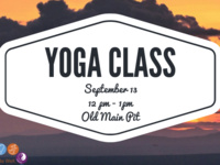Wellness Week: Outdoor Yoga