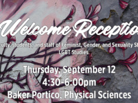 FGSS Welcome Reception