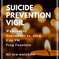 Suicide Prevention Vigil