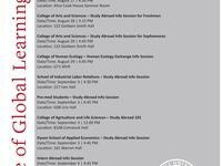 College of Engineering - Study Abroad Info Session