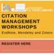 Workshops @ Your Library: Citation Management Workshops