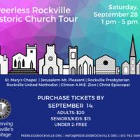 Peerless Rockville Historic Church Tour