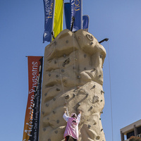 Climbing with UCSB Adventure Programs in the Arbor