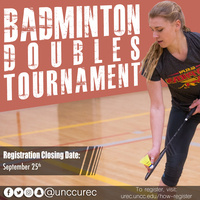 Intramural Sports - Badminton Doubles Tournament