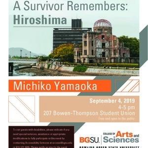 """A Survivor Remembers: Hiroshima"" - Michiko Yamaoka speaks"