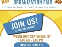 Administrator and Organization Fair