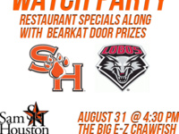 Bearkat Football Watch Party with the Walker County Alumni Club