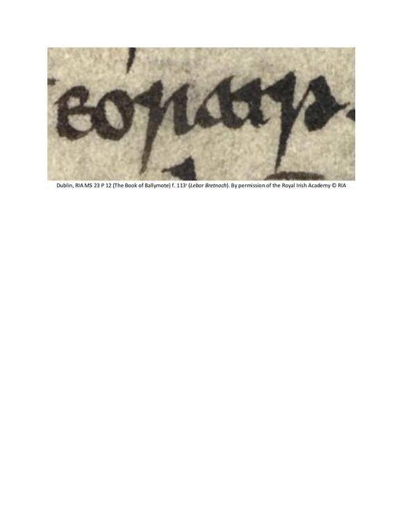 EORAIP: Gaelic Ireland in Medieval & Early Modern Europe