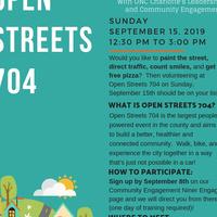 Open Streets 704 Activity Ambassadors