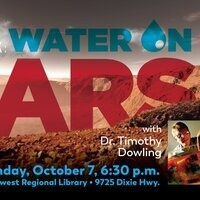 Water on Mars by Timothy Dowling