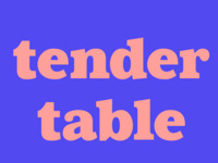 Tender Table: Tucker Garcia, Alejandra Nava, Bemnia Lathan