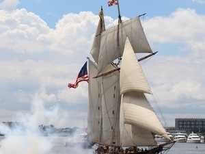 Pride of Baltimore II Returns Home