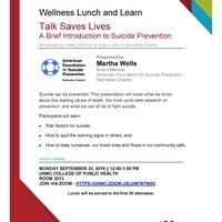 Wellness Lunch and Learn