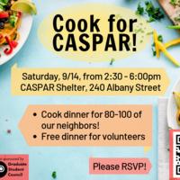 Cook for CASPAR