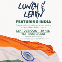 International Lunch & Learn ft. India