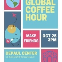 Global Coffee Hour: Make Friends at DePaul