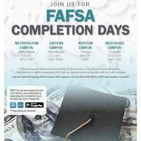 FAFSA Completion Days