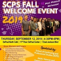 School of Continuing and Professional Studies (SCPS) Fall 2019 Welcome Event