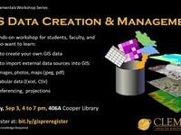 GIS Data Creation and Management Workshop