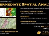 Intermediate Spatial Analysis Workshop