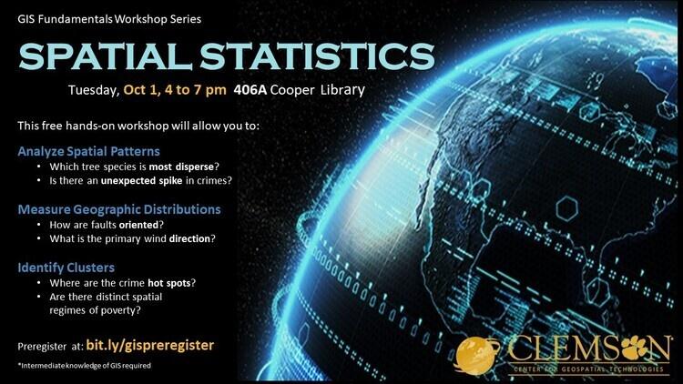 Basic Spatial StatisticsÊWorkshop