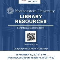 Northeastern University Library Resources for International Students