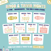 Connect The Ducks Presents: Bingo and Trivia Nights!