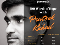 Asha Cornell Presents 100 Words of Hope: Prateek Kuhad in Concert
