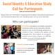 Social Identity & Education Paid Focus Group