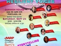 Our Bold Voices Presents: Resilient Voices: Aging with HIV/AIDS